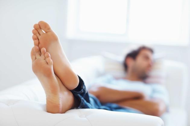 Male feet Tips and Hints
